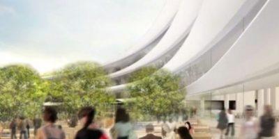 De esta forma se verá el nuevo Campus 2 de Apple. Foto:Apple