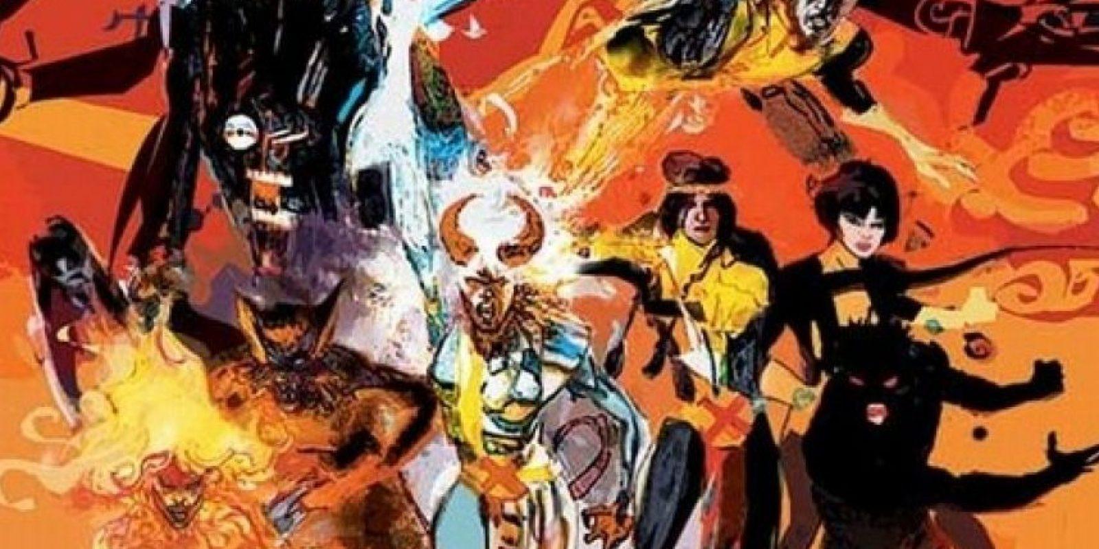 """20th Century Fox llevará a la pantalla grande la historia de """"Los Nuevos Mutantes"""" Foto:Marvel Comics"""
