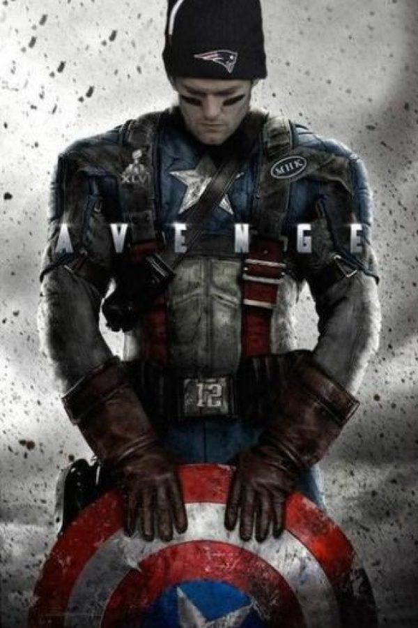 """""""Capitán América"""" es Chris Evans Foto:Twitter/ChrisEvans"""