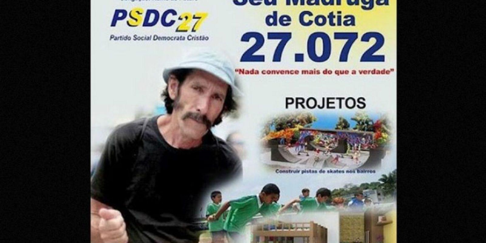 Los conocimos durante las elecciones generales de octubre pasado en Brasil Foto:Naosalvo.com.br