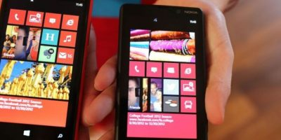 Desde el Windows 8, Microsoft también apuesta por desarrollo de plataformas móviles, como lo es su Windows Phone. Foto:Getty Images