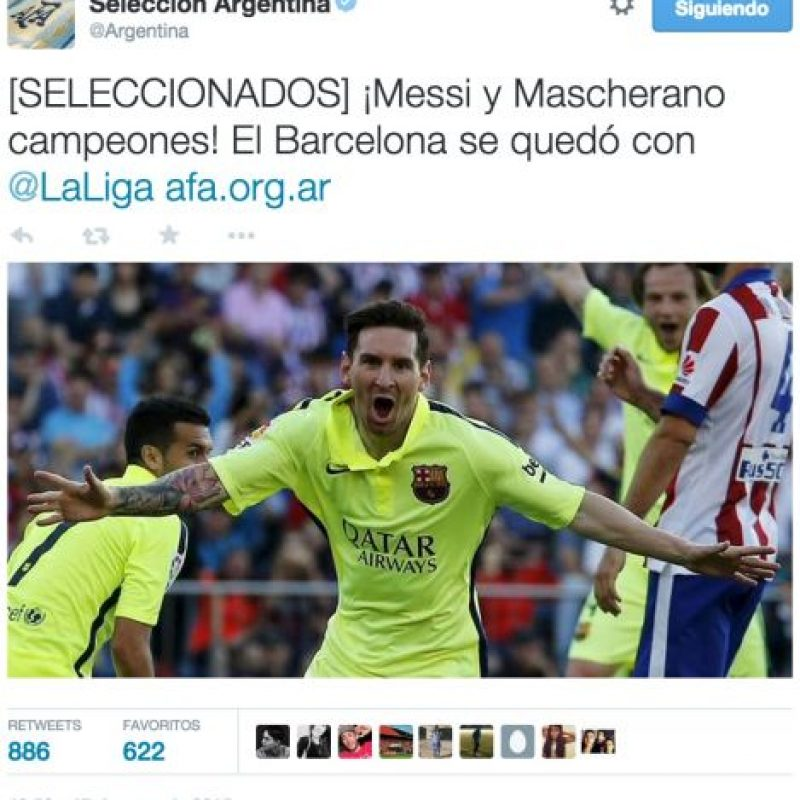 Foto:twitter.com/Argentina