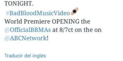 El emoji para promocionar nuevo video de Taylor Swift
