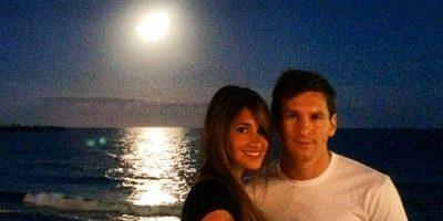 La pareja de Lionel Messi Foto:Vía instagram.com/antoroccuzzo88