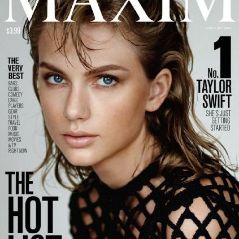 La revista Maxim marca el debut de la cantante al aparecer en una revista para caballeros Foto:Revista Maxim
