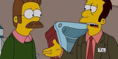 """""""Ned Flanders"""" Foto:vía facebook.com/TheSimpsons"""