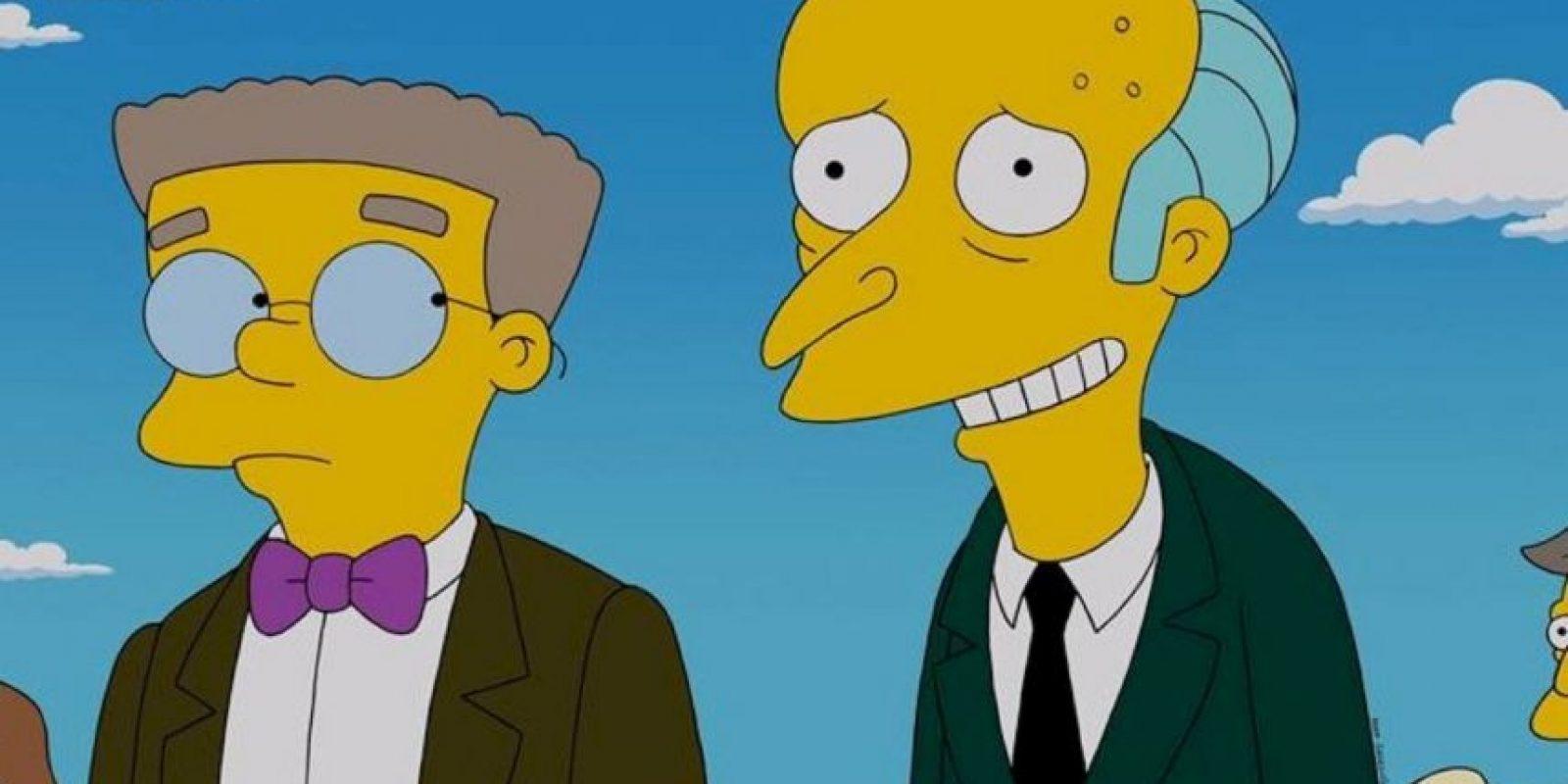 """Mr. Burns"" Foto:vía facebook.com/TheSimpsons"