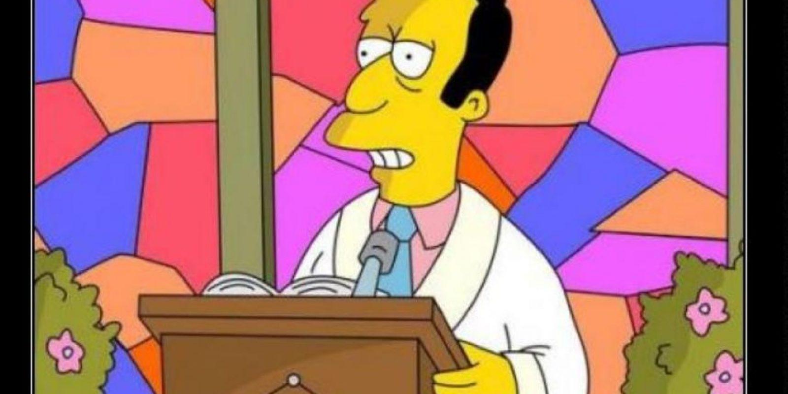 """""""Reverendo Timothy Lovejoy"""" Foto:vía desmotivaciones.es"""