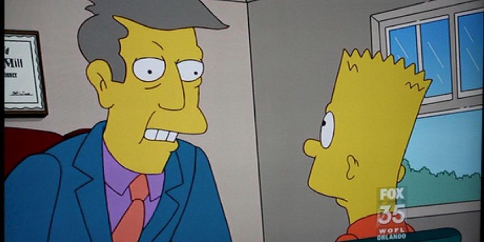 """""""Director Skinner"""" Foto:vía Twitter"""
