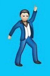 Hombre bailando. Foto:vía Yahoo.com