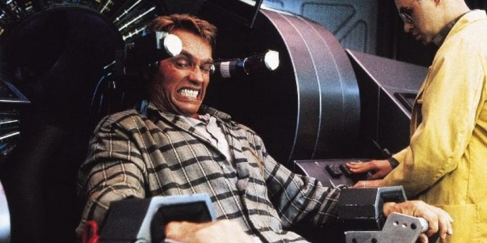 """Le dio vida a """"Douglas Quaid, un hombre que sueña con viajar de vacaciones a Marte. Foto:Columbia/TriStar Pictures"""