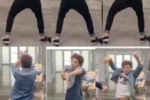 """Un miembro de la banda llamado CalLamar indicó: """"Sólo está basado en una chica en un club bailando de forma divertida"""". Foto:vía twitter"""