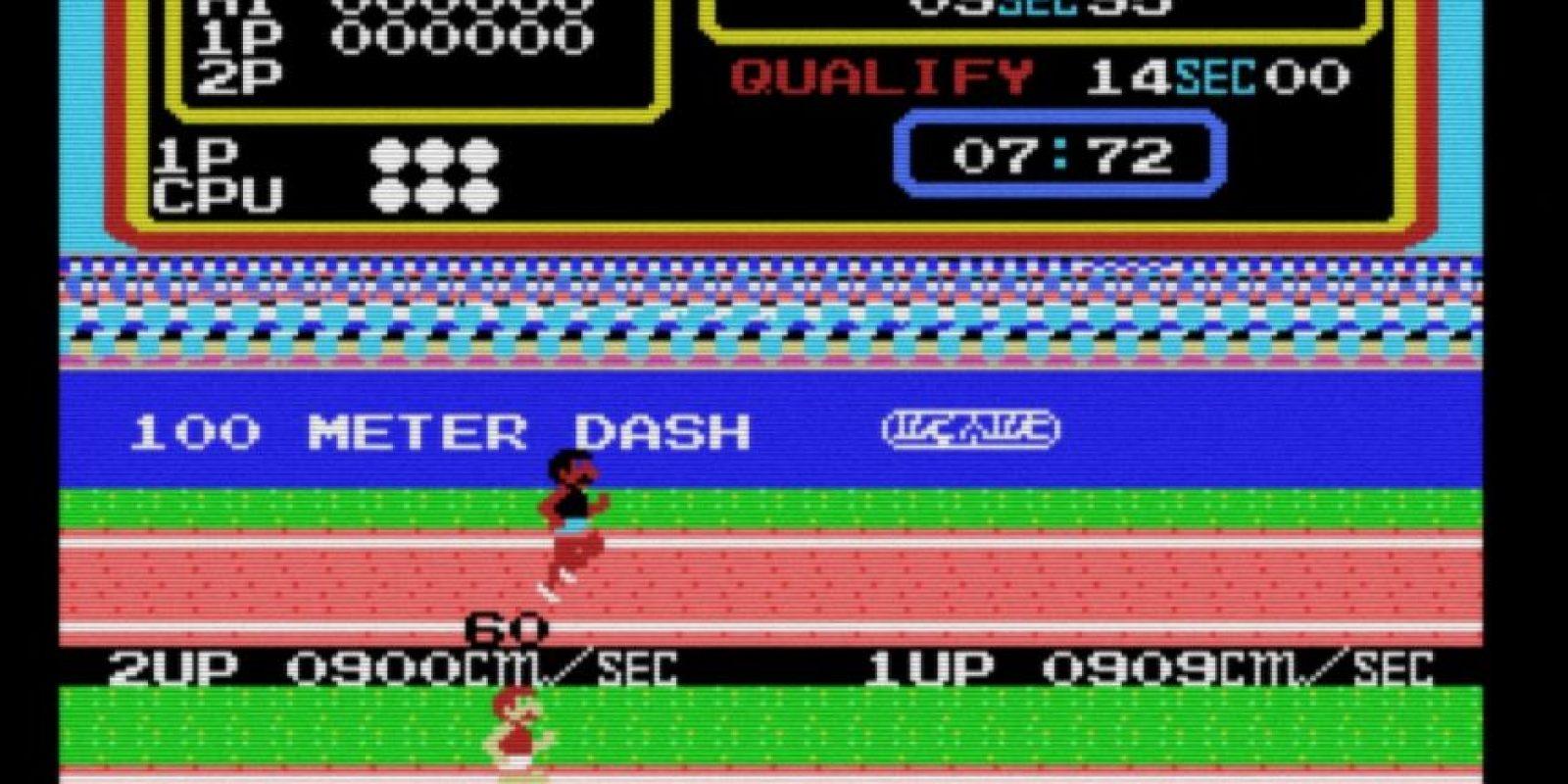 Track & Field / Hyper Olympic (1983). Foto:Konami