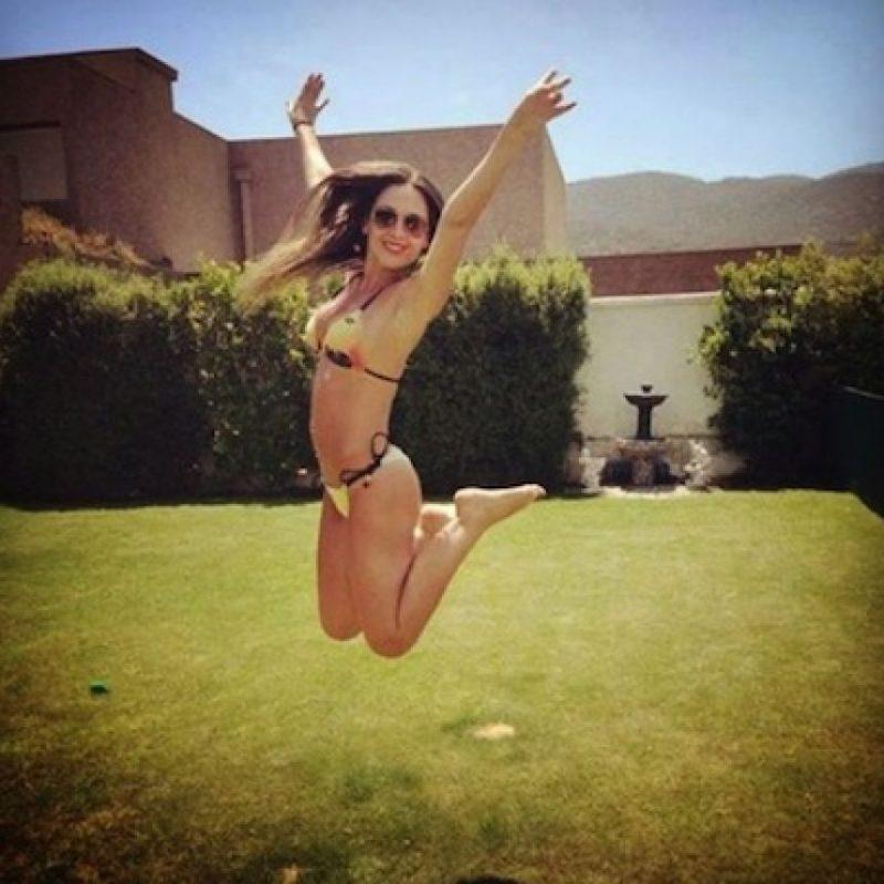 Es esposa del futbolista sudafricano chileno, Mark González, con quien tiene dos hijos: Mark y Luciana Foto:Instagram/MauraRiveraFans