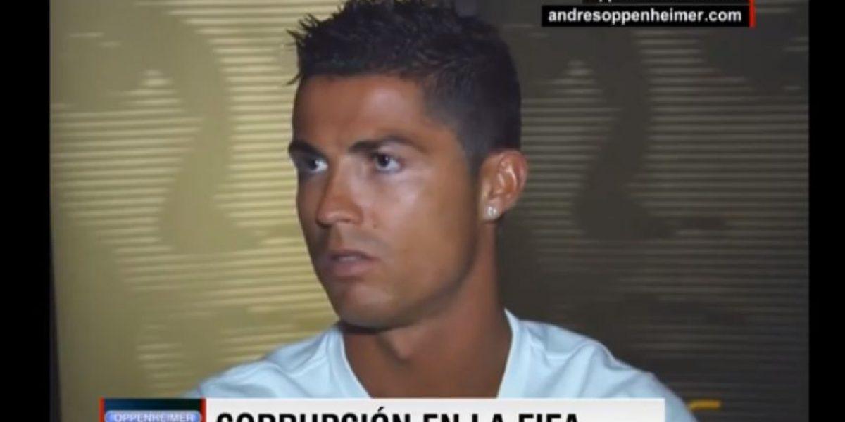 VIDEO. Ronaldo abandona entrevista diciendo palabras ofensivas