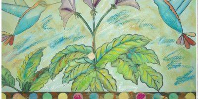 """Pintura: Igal Permuth reflexiona sobre el ánimo en """"María Colores"""""""