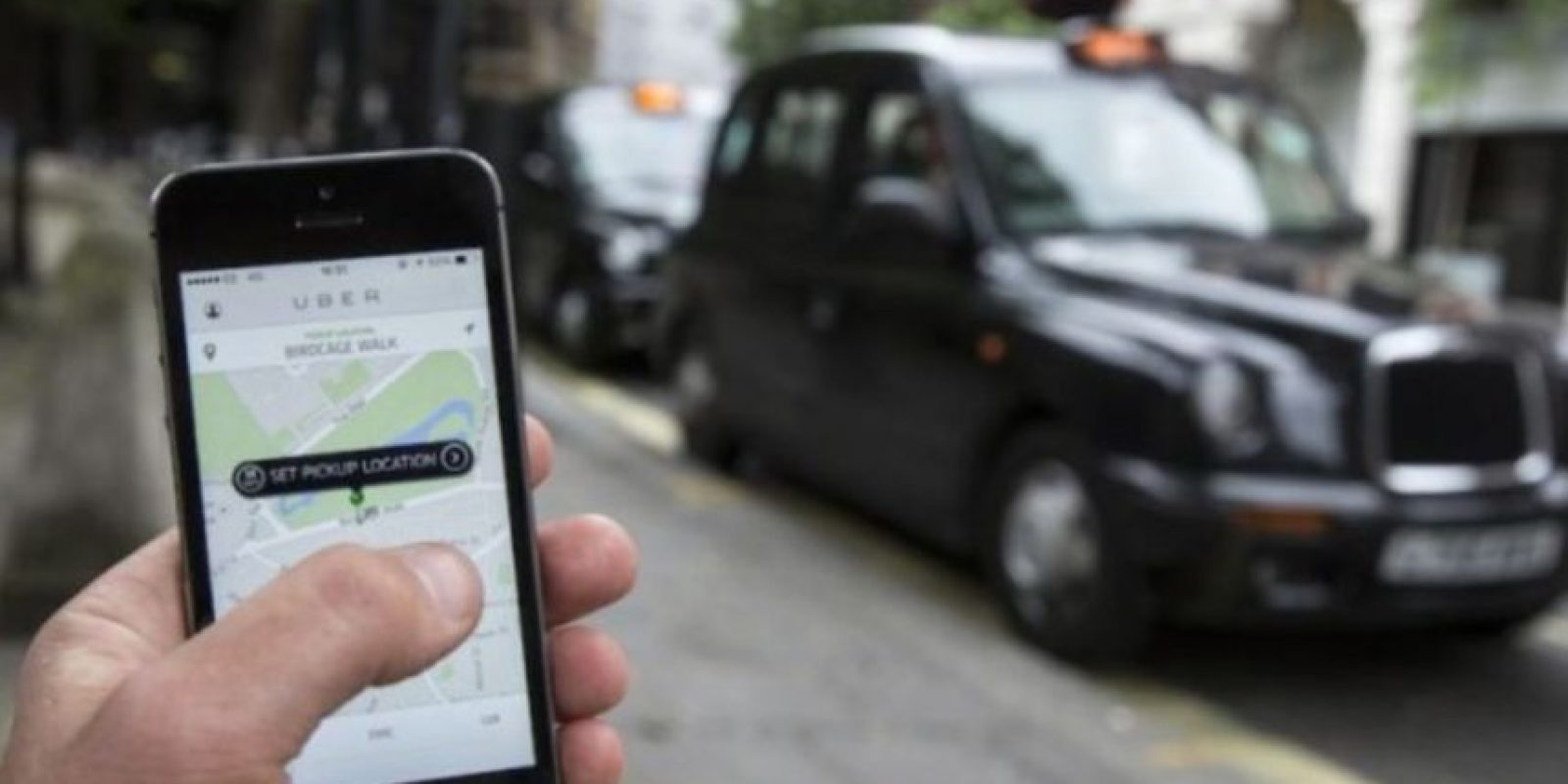 1) La aplicación está disponible para iPhone y Android. Foto:Getty Images