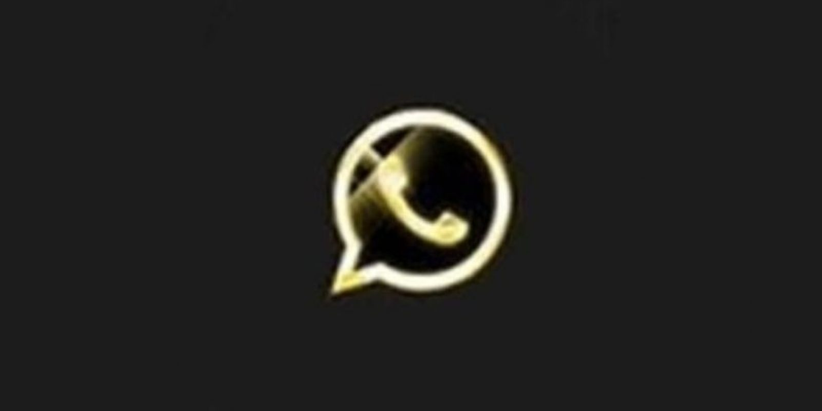 1- WhatsApp Oro. Foto:Twitter