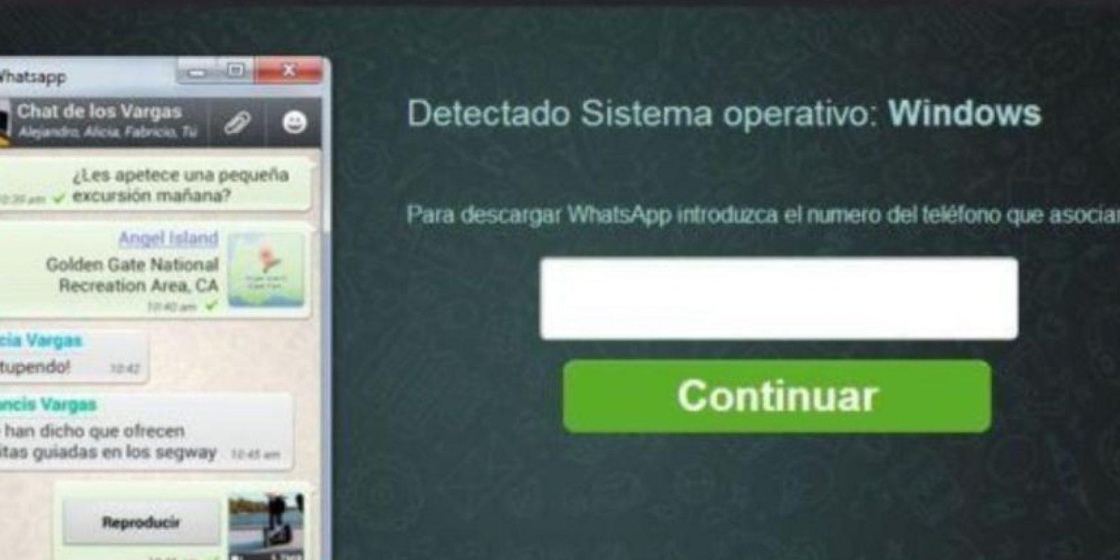 Piden el número telefónico y, al momento de descarga el software, instala un virus troyano en su PC para obtener sus datos bancarios. Foto:Twitter