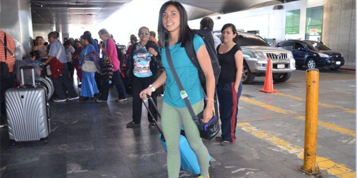 Equipo español ya espera a la guatemalteca Ana Lucía Martínez