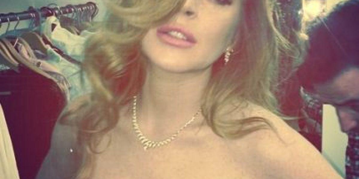FOTOS: Lindsay Lohan publicó un atrevido selfie en Instagram