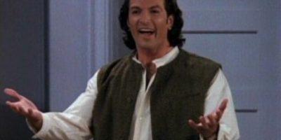 """Interpretó a """"Paolo"""", el novio italiano de """"Rachel"""" Foto:YouTube"""