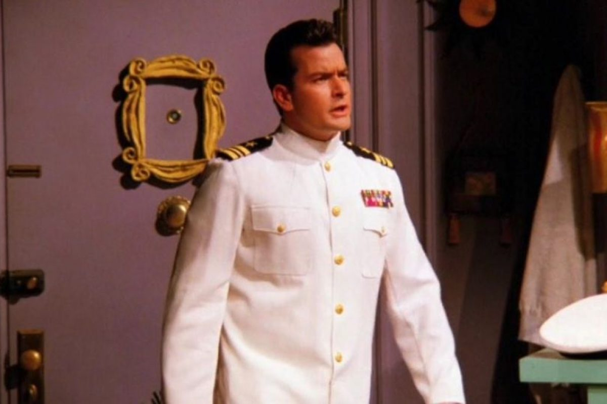 """Interpretó a """"Ryan"""", el marino que visita a """"Phoebe"""" cuando sufre de viruela. Foto:vía twitter"""