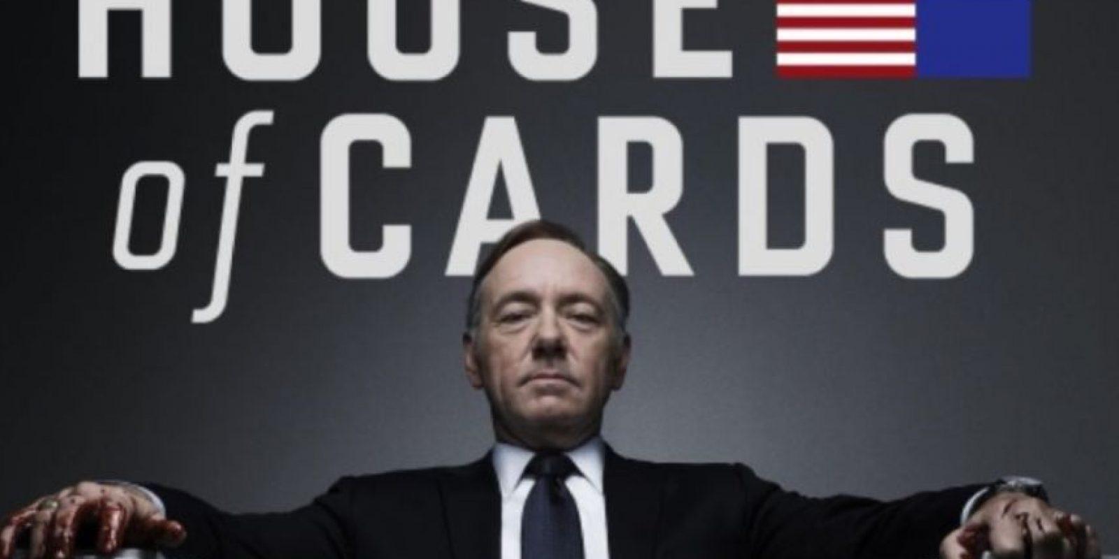 """4- Cuando Netflix compró los derechos de """"House of Cards"""" reclutó a David Fincher y a Kevin Spacey por la popularidad de sus películas. Foto:Netflix"""
