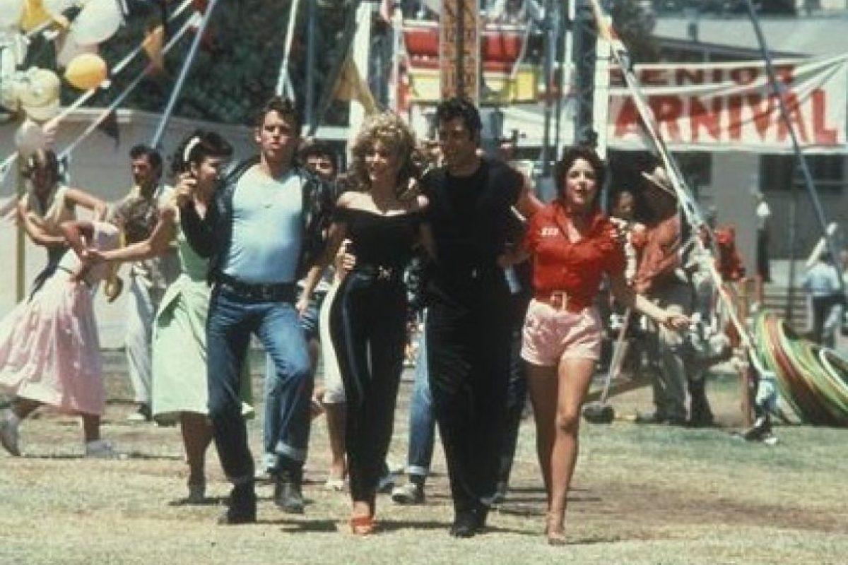 """Lorenzo Lamas, quién interpretó al novio de """"Sandy"""" tenía 19 años. Foto:IMDb"""