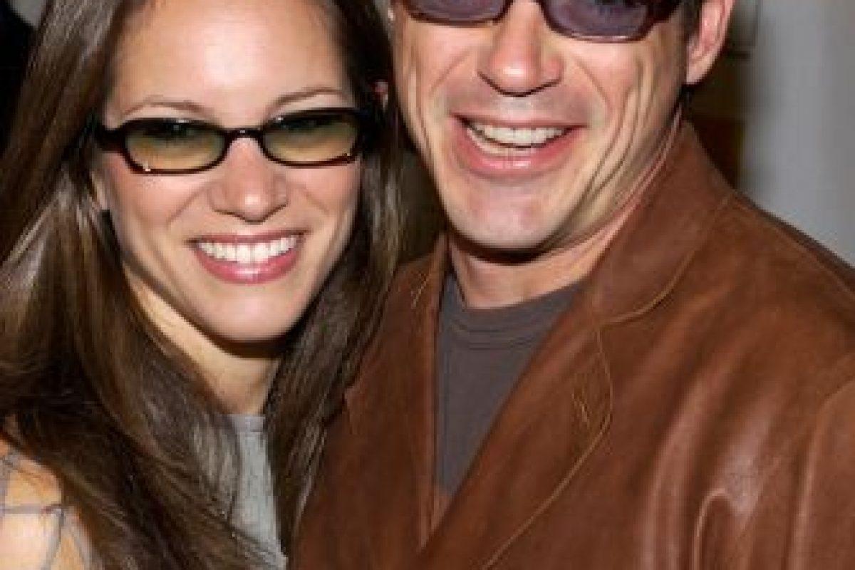 En 2003, conoció a su actual esposa y socia, Susan Levin. Foto:Getty Images