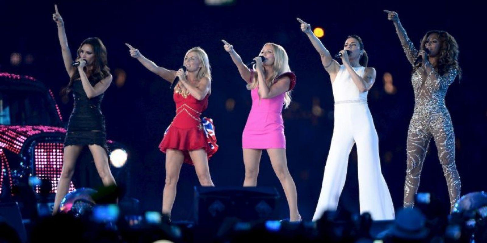 En 2012, se presentaron en la clausura de los Juegos Olímpicos de Londres Foto:Getty Images