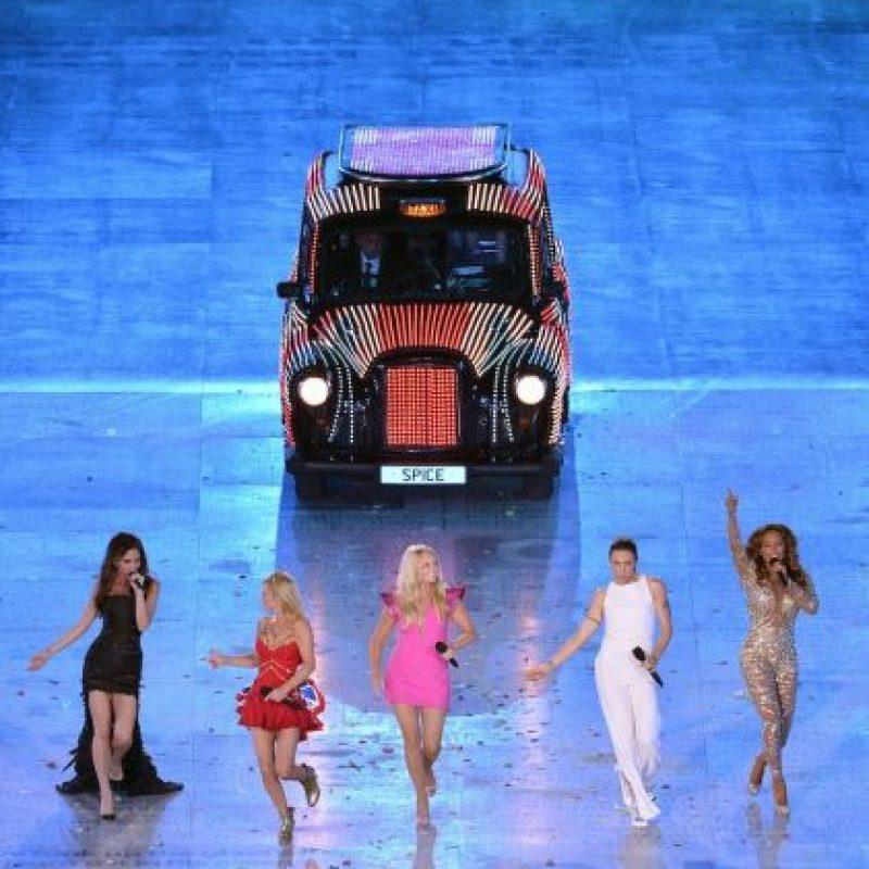 """Durante su performance interpretaron el tema """"Wannabe"""" y """"Spice Up Your Life"""" Foto:Getty Images"""