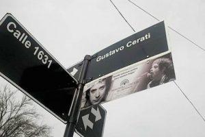 Una calle argentina fue bautizada con su nombre Foto:Facebook/GustavoAdrianCerati