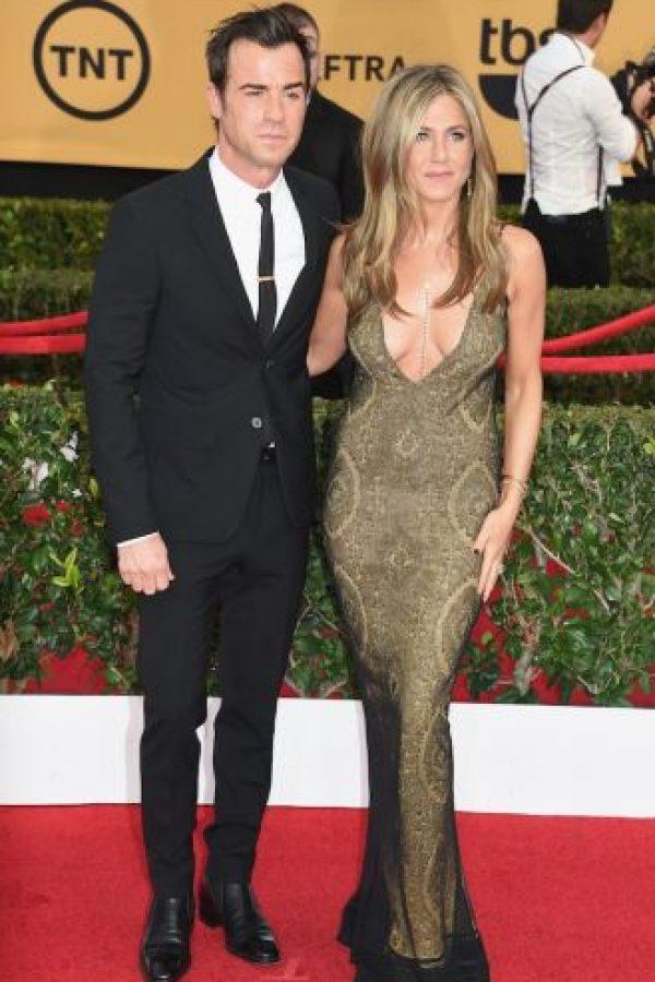 Luego de su matrimonio fallido con Brad Pitt, la actriz encontró el amor en Justin. Foto:Getty Images