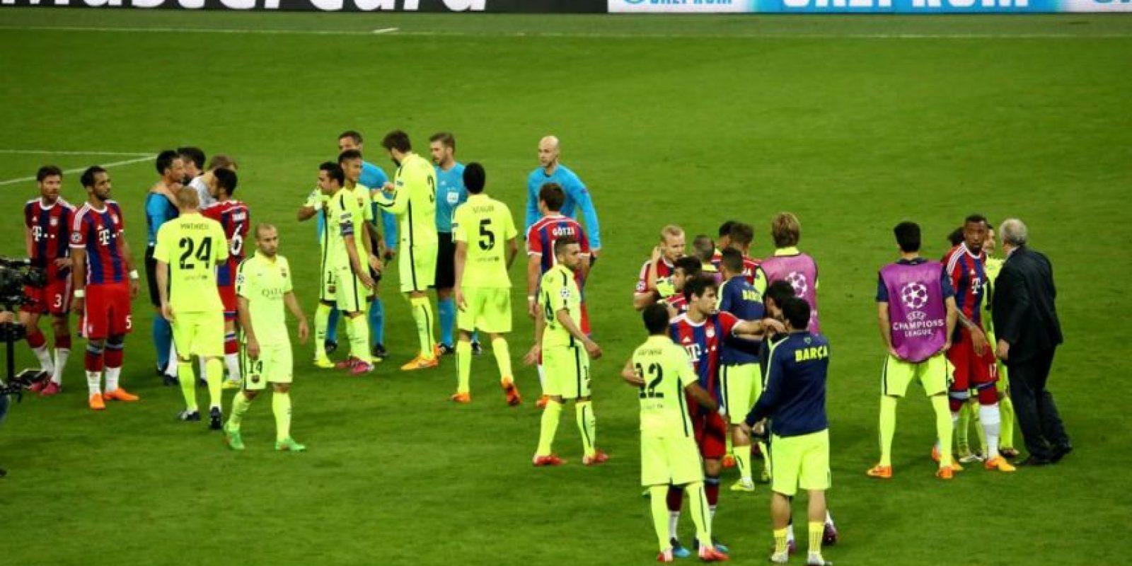 Esta será la cuarta final de Champions League del Barça en 10 años. Foto:Vía twitter.com/fcbayern