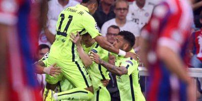 Este miércoles se conocerá a su rival: Real Madrid o Juventus. Foto:Vía twitter.com/fcbarcelona_es