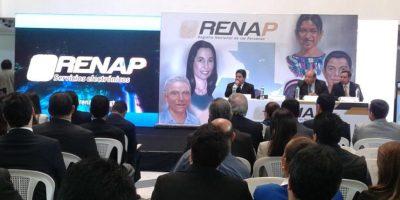 Renap ofrece servicios electrónicos para agilizar trámites