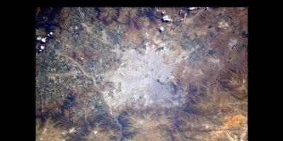 Chile Foto:Vía Twitter.com/AstroSamantha