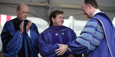Exfiscal Claudia Paz y Paz recibe un Doctorado en Derecho