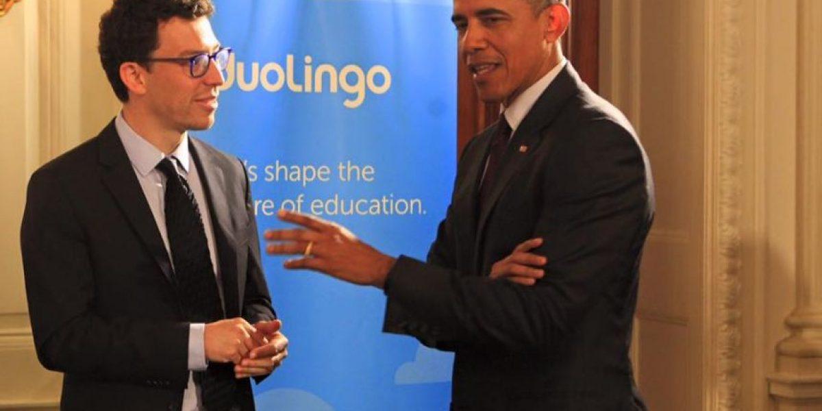 Embajada de EE.UU felicita a Luis von Ahn tras su reunión con Obama
