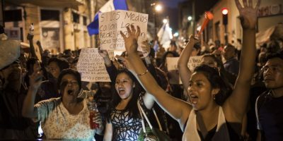 FOTOS. Protestas se intensifican tras renuncia de Baldetti