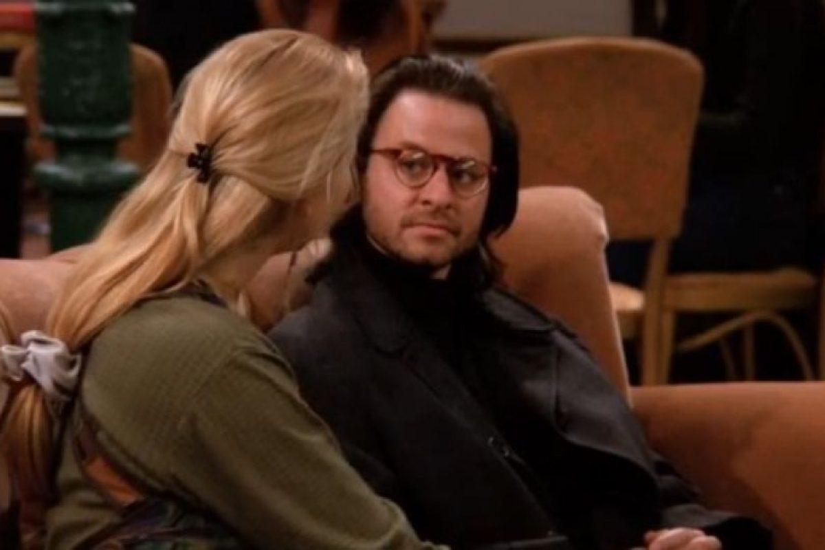 """Interpretó al novio psicólogo de """"Phoebe"""" Foto:vía facebook.com/friends.tv"""