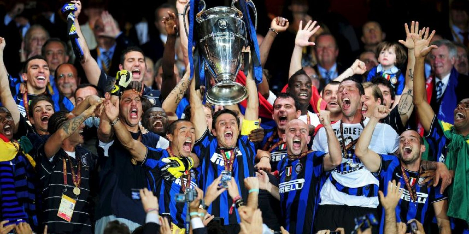 2. Inter de Milán (Fútbol) Foto: Getty Images