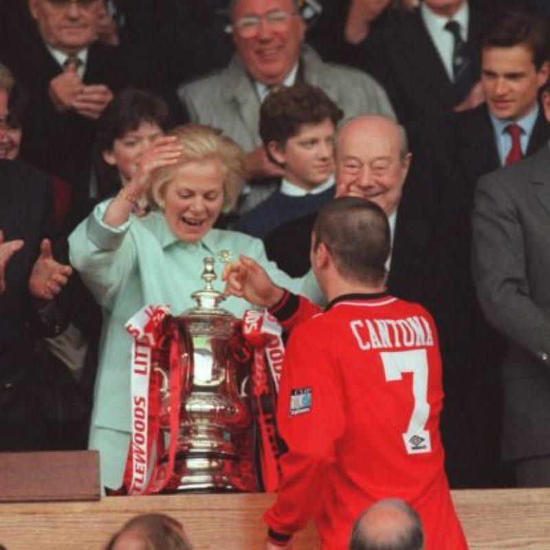 Con el Manchester United disputó 185 partidos en los que anotó 82 goles. Foto:Getty Images