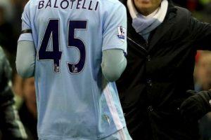 7. Roberto Mancini vs. Mario Balotelli. Foto:Getty Images