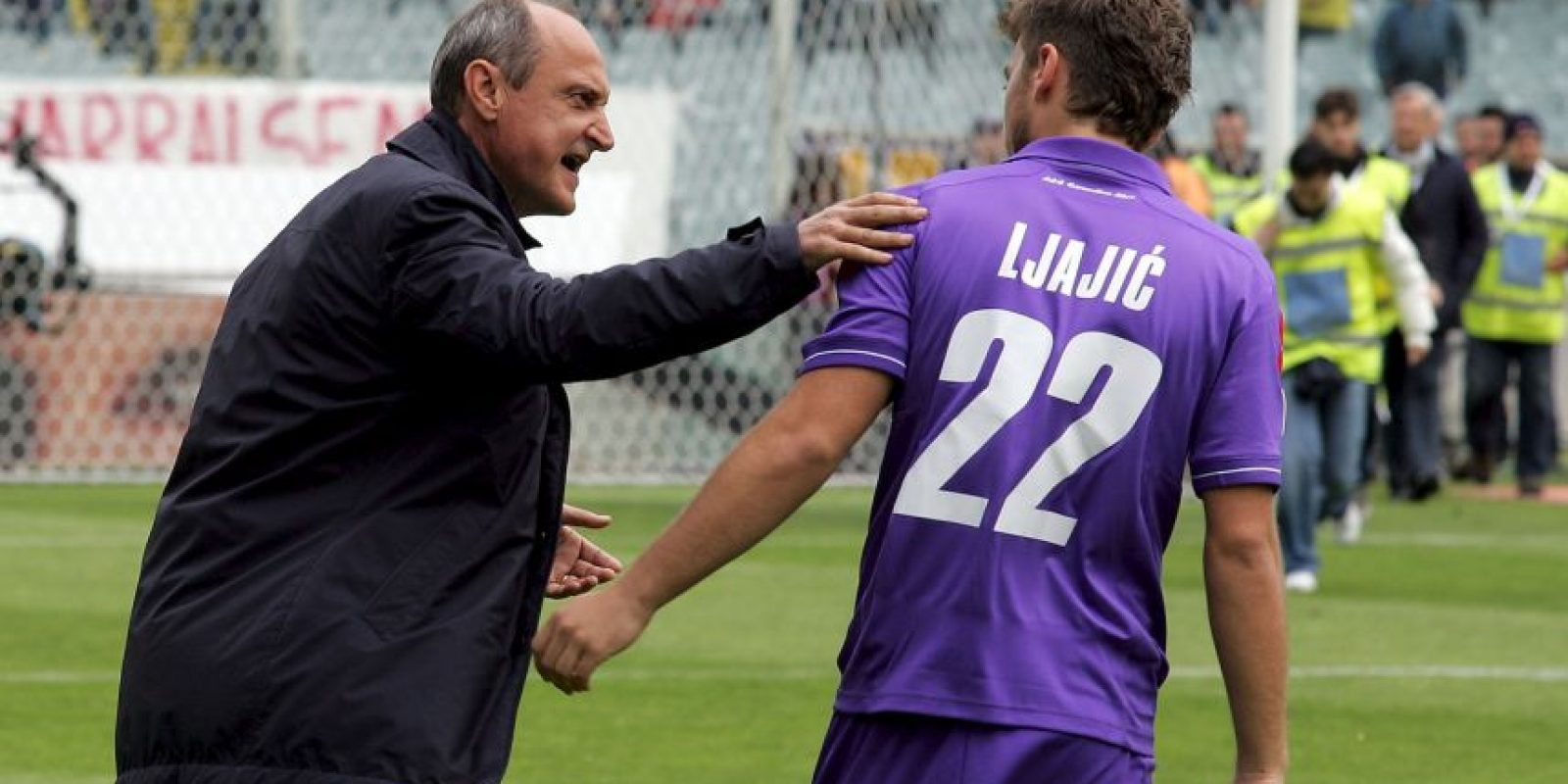 6. Delio Rossi vs. Adam Ljajic. Foto: Getty Images