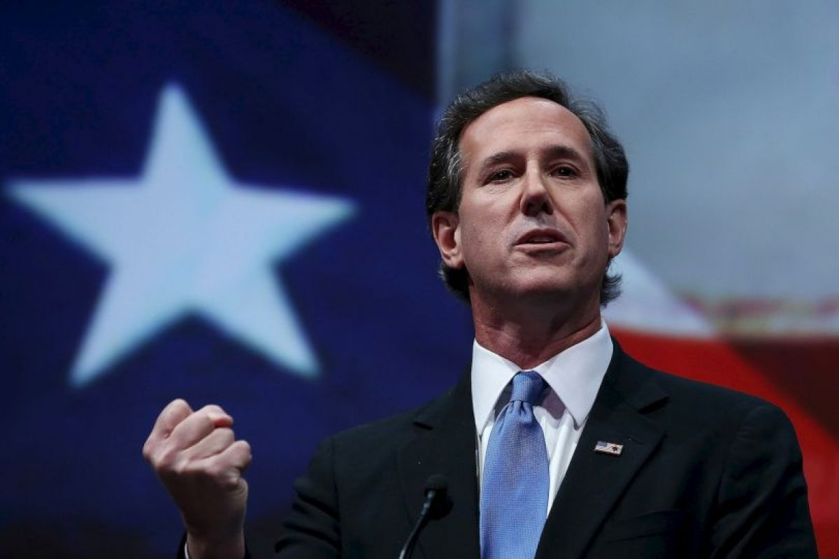 2. Rick Santorum- Foto: Getty Images