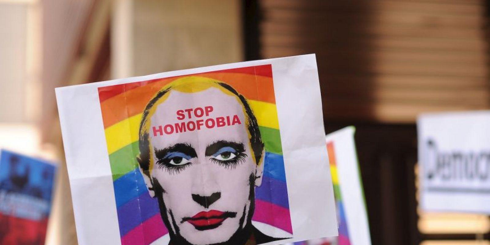 El gobierno de Rusia se ha mostrado en contra de la homosexualidad desde su inicios Foto:Getty Images