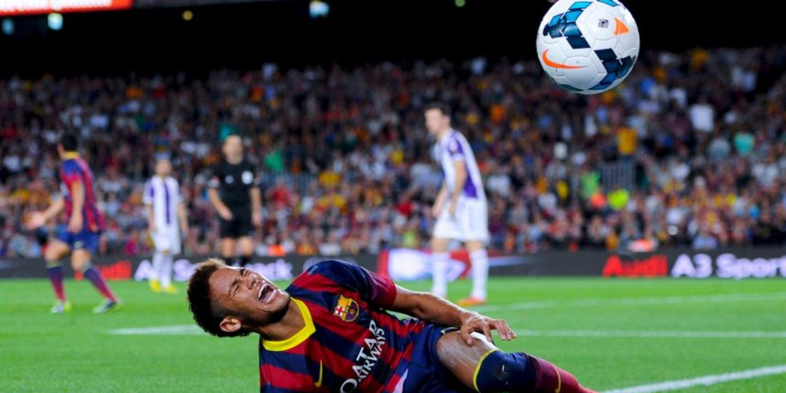3. Neymar en Barcelona. Foto: Getty Images