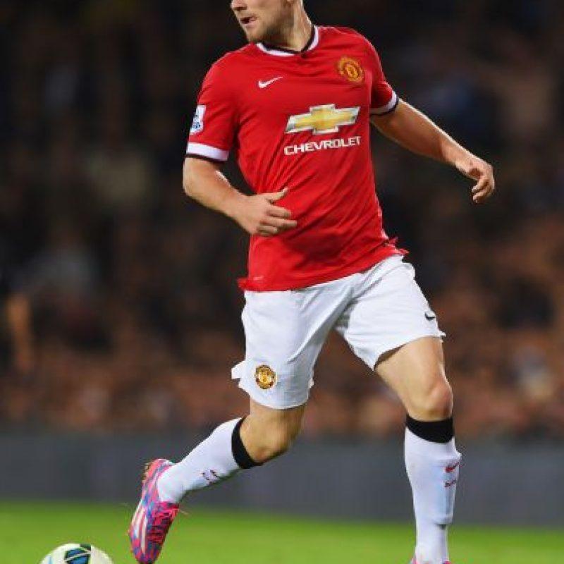 9. Luke Shaw / Manchester United / Inglaterra / 19 años / Lateral izquierdo Foto:Getty Images